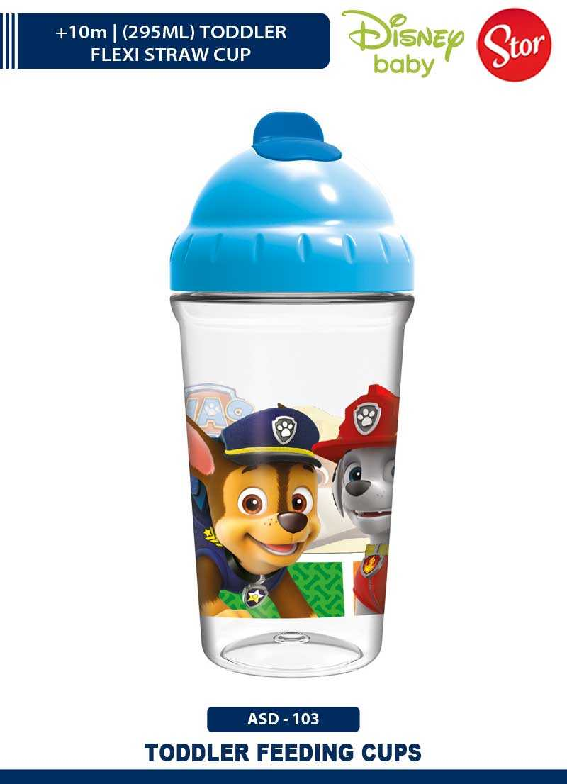 Paw Patrol Toddler Flexi Straw Cup