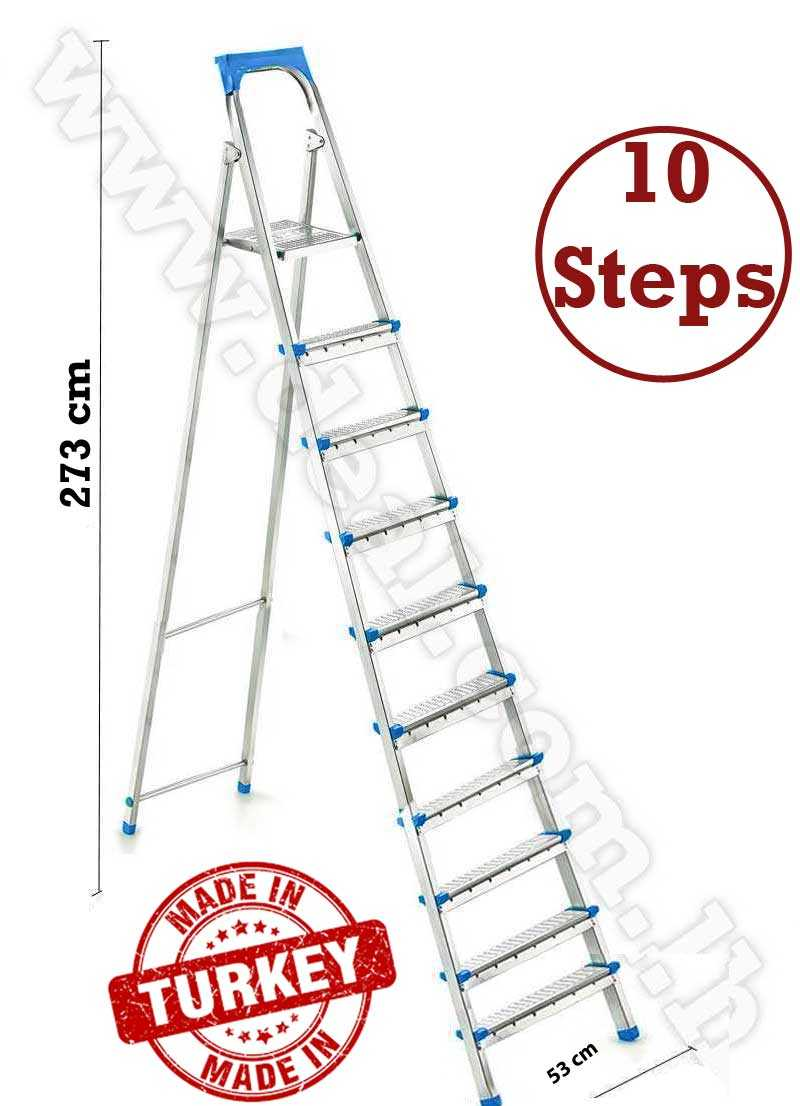 straight Ladder 10 stepped