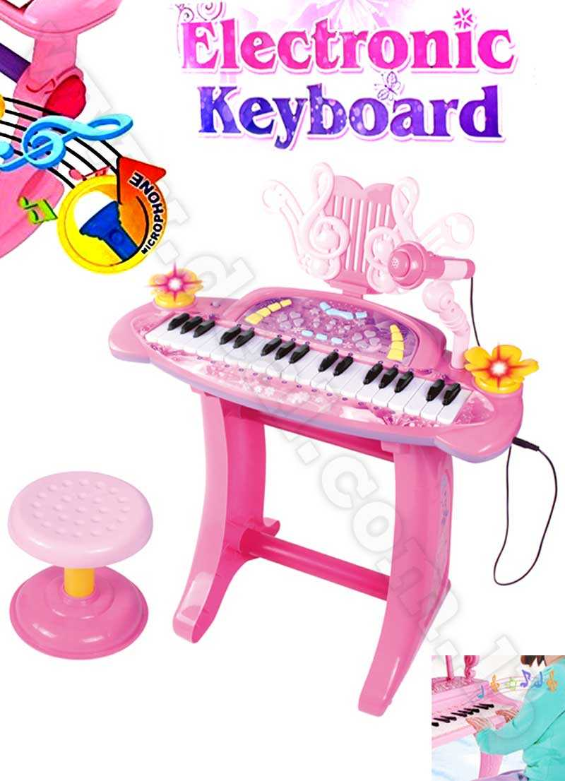 Plastic Children Electronic Keyboard Musical Toy