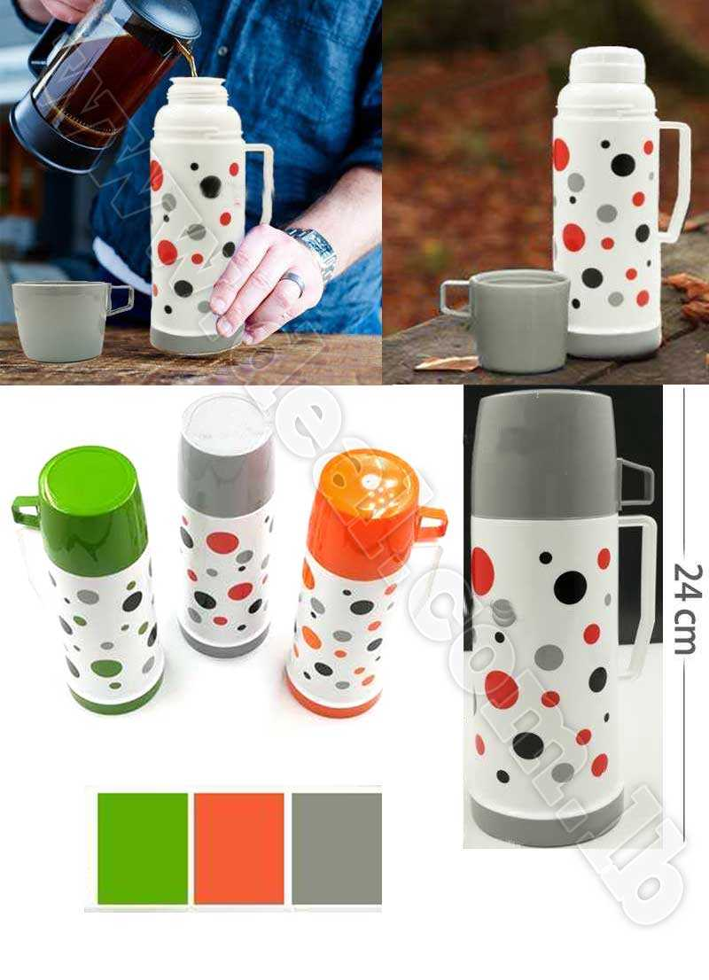 Plastic Pionted Thermos 045 L