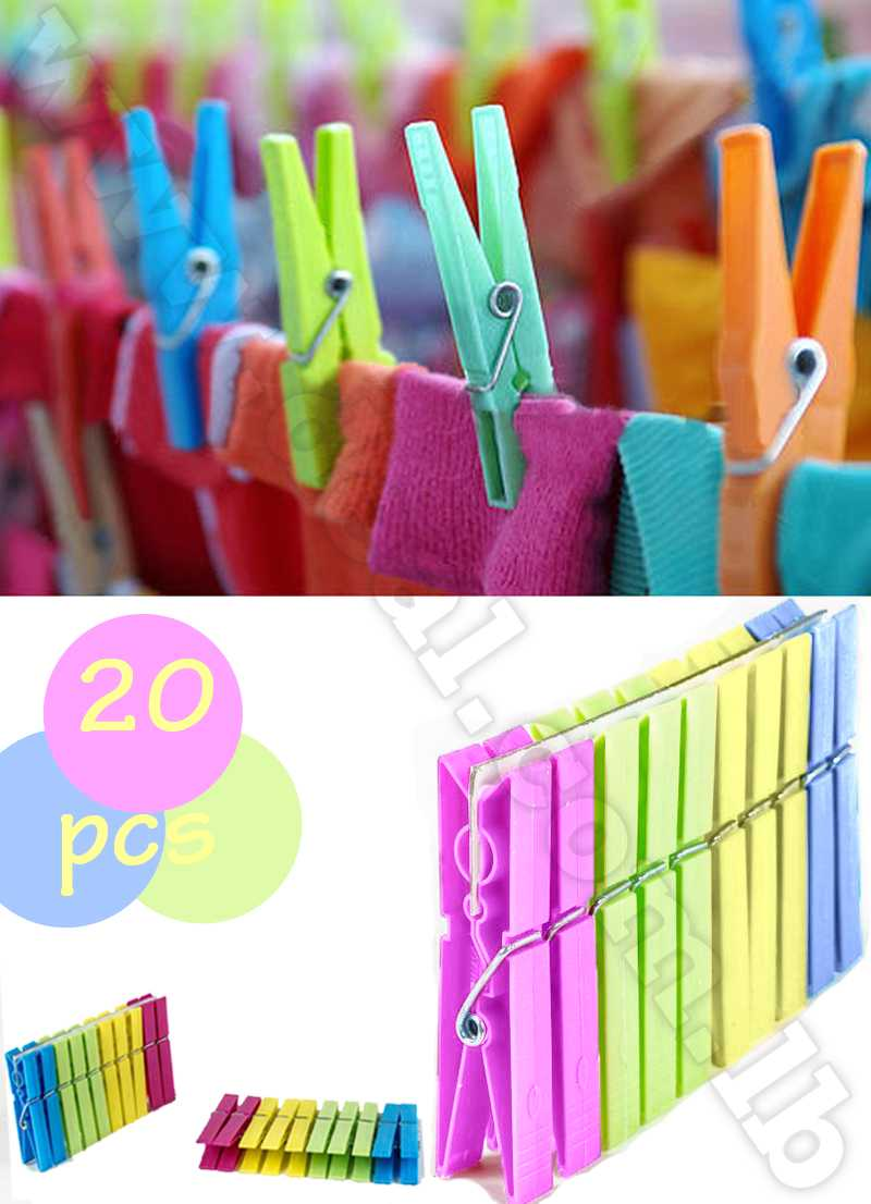 Plastic clips from ziranlin