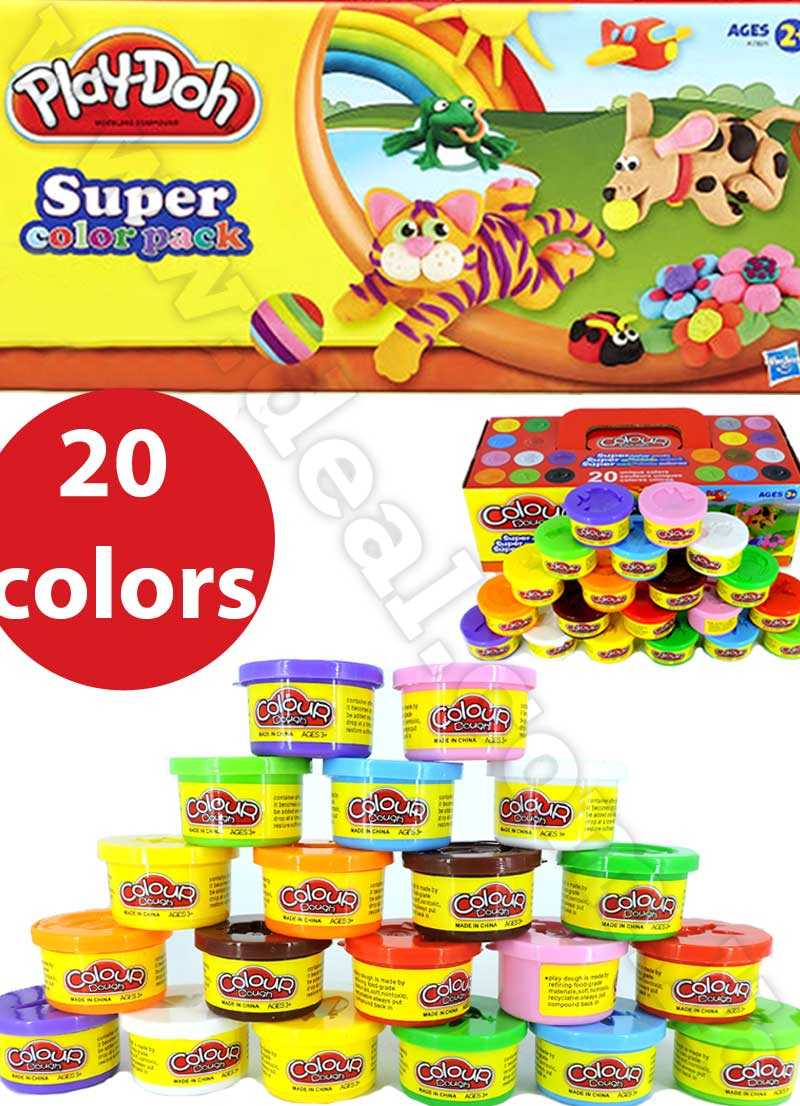 Play-Doh Super Colour 20 Can Pack