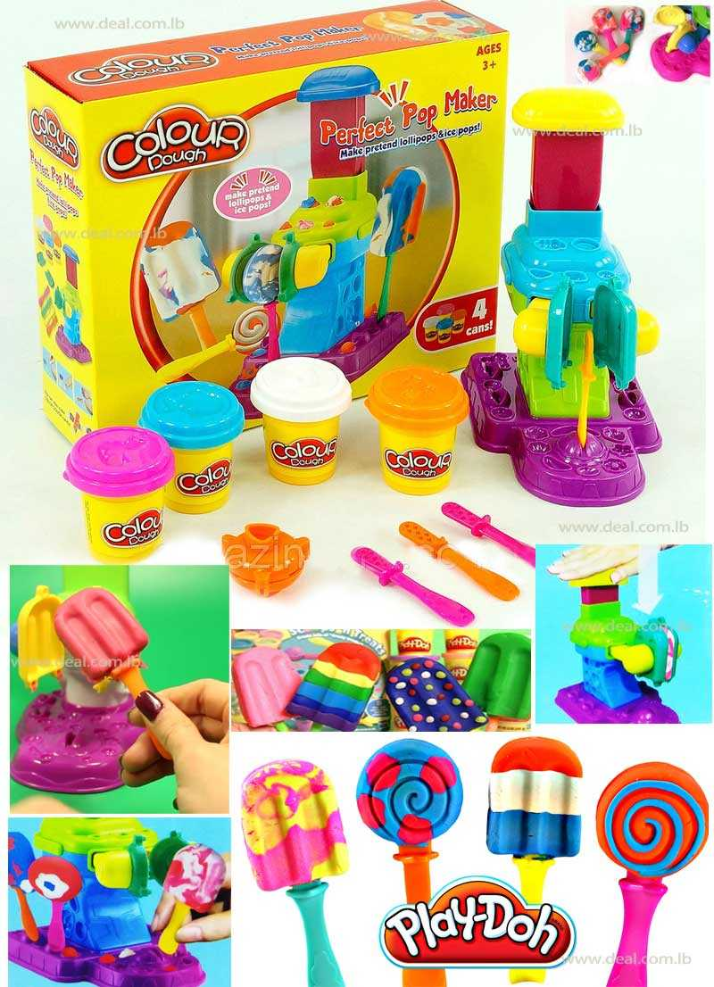 Play Doh Sweet Shoppe Perfect Pop Maker