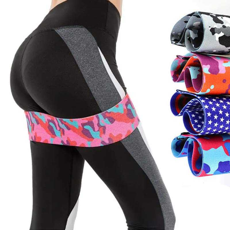 Power Hips Fitness Resistance Bands Yoga Workout Glutes Leg Exercise Elastic Bands Women Squats Fitness Circle Comfortable Belt