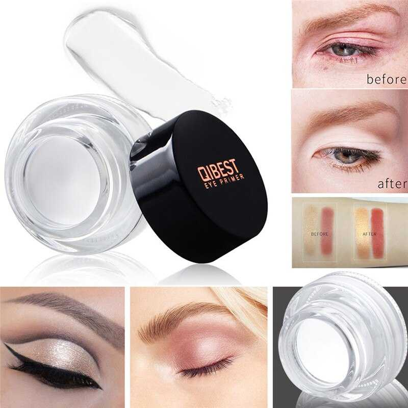 Qibest Professional Eye Concealer White Cream Make Up Face Lip Eye Pores Foundation Face Concealer Cream Makeup