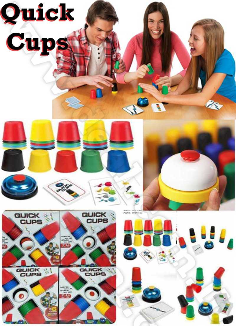 Quick Cups Games for Kids