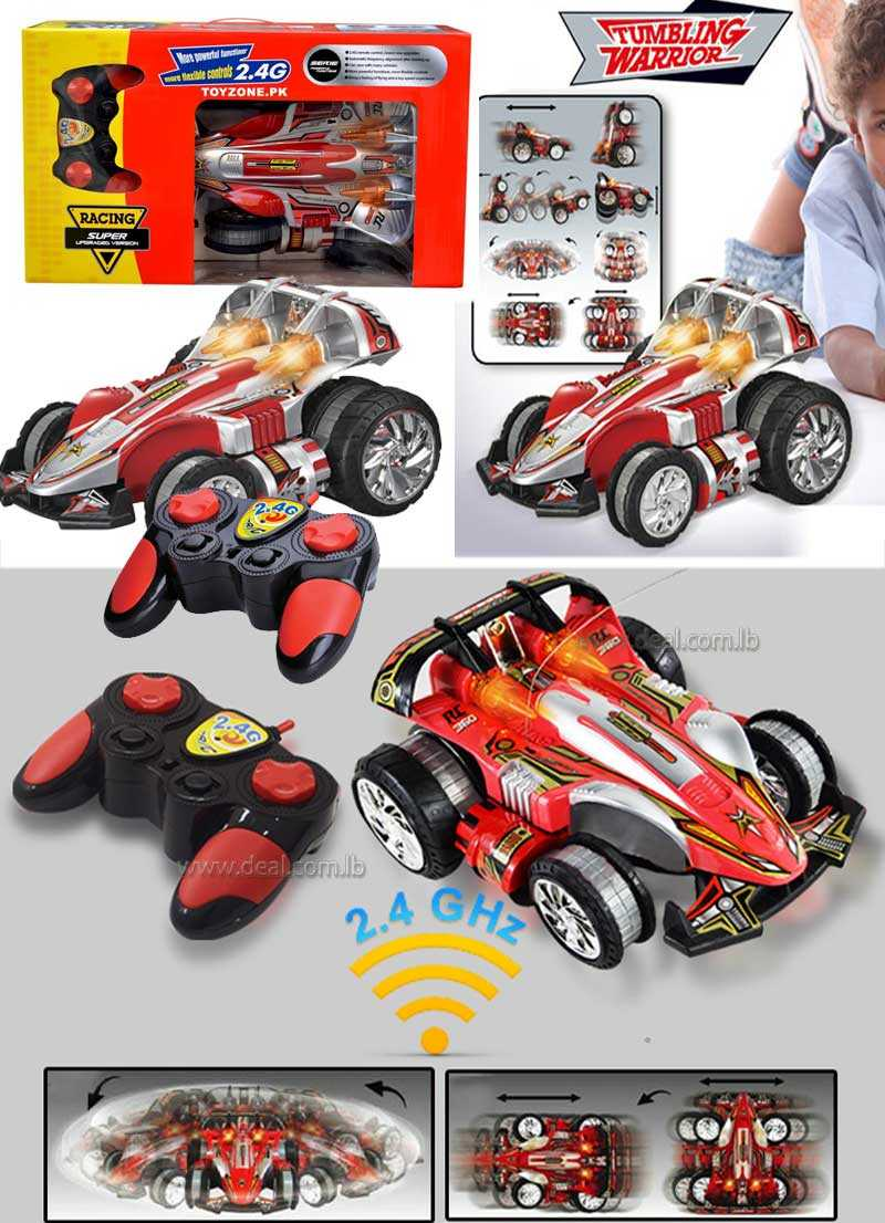 Radio Controlled Toy Stunt Car (QX-8337) worth Rs.7,850