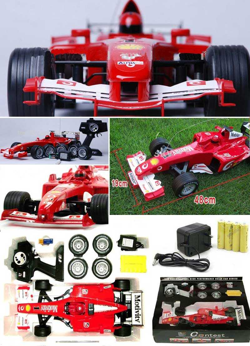 Radio control high performance Electric HSP Contest F1 Racint car RC