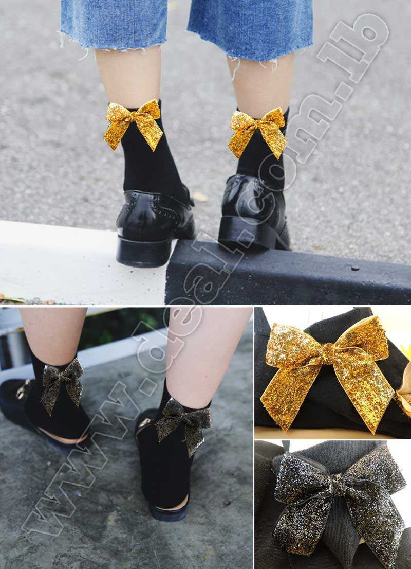 Ribbon+Flash+socks+trend+beads+Flowers+hot+drill+sequin+color+in+the+tube+heap+pile+socks