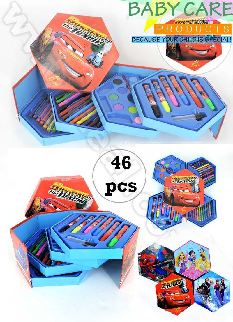 Set Of 46 Pcs 4th Layer painting supplies