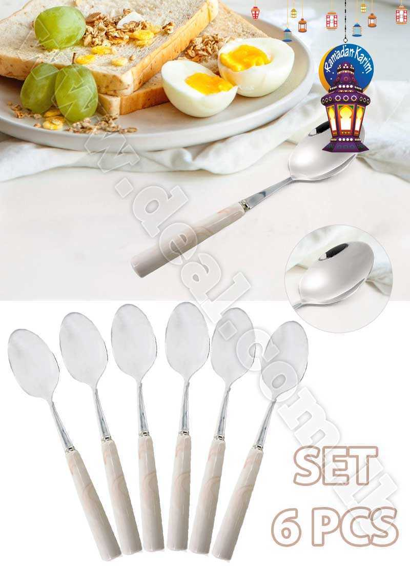 Set Of 6 PCS Spoon Stainless Steel