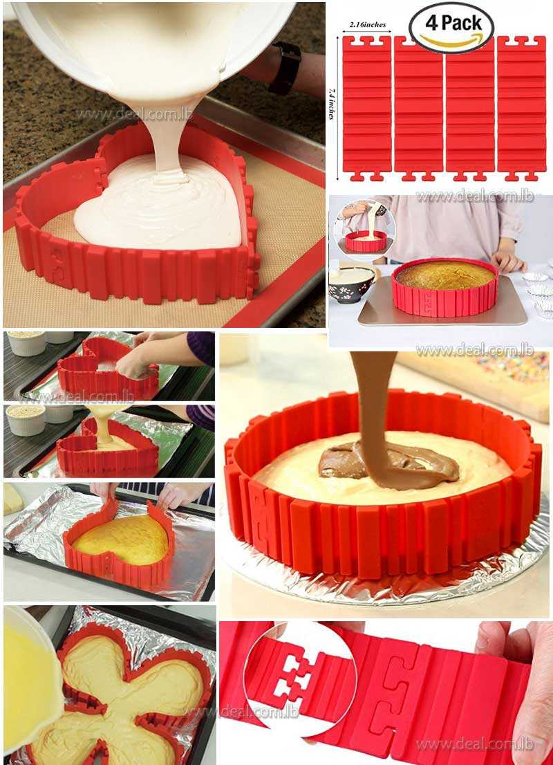 Silicone+Cake+Mold+Magic+Bake+Snake+and+Cake+Decorating