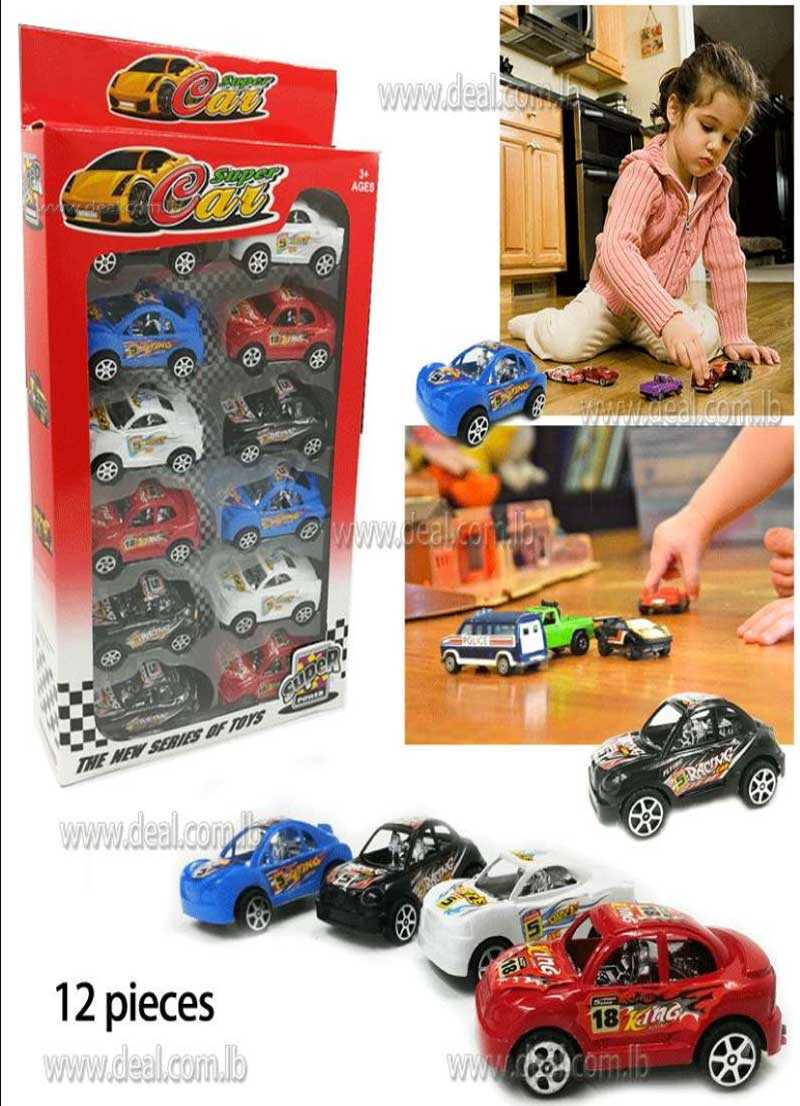 Small Cars Super Power 12 Pieces