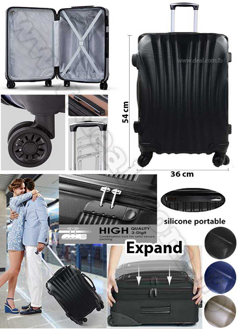 Small Size Luggage Wheel Trolleys Suitcase Bag Hard Shell Travel