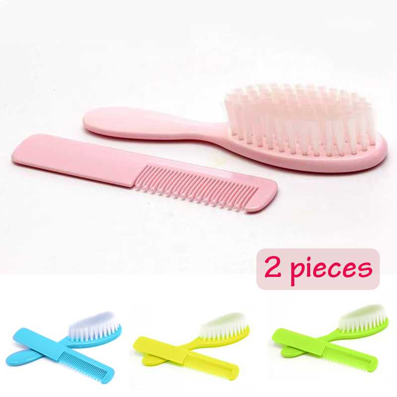 Soft++Baby+Comb+and+Hair+Brush+Set