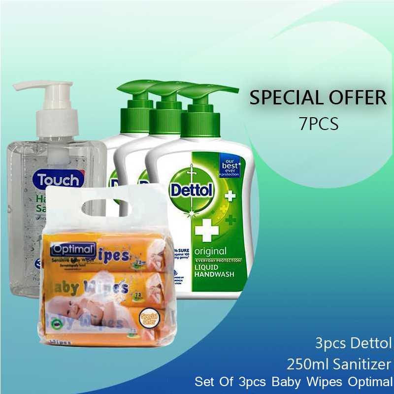 Special Offer  Hand Gel-Dettol-wet wipes