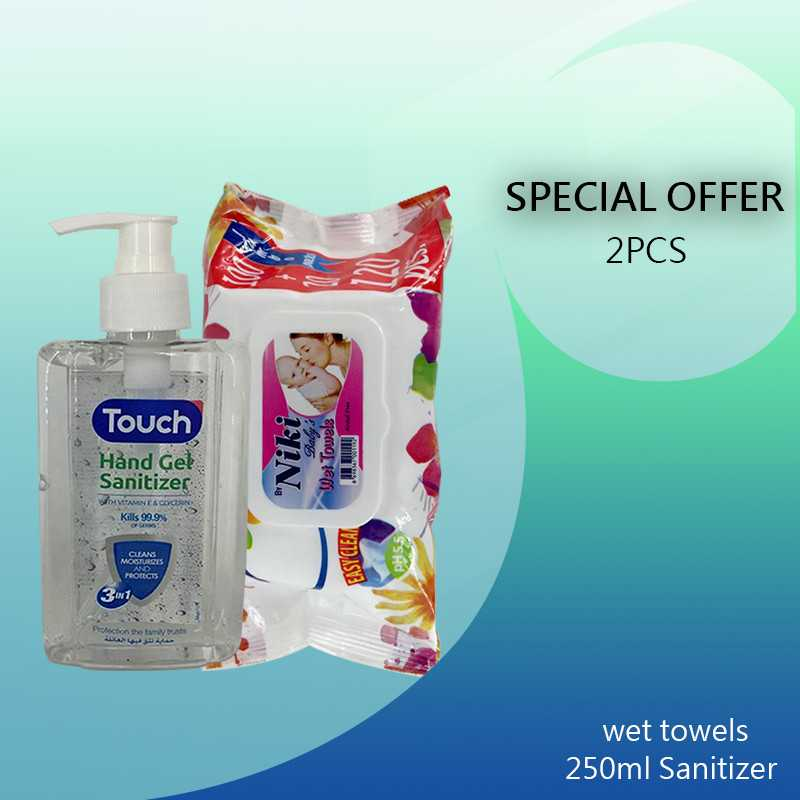 Special Offer  Hand Gel-wet towels