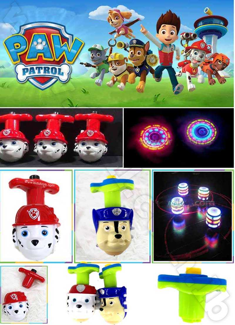 Spinning Top Paw Patrol