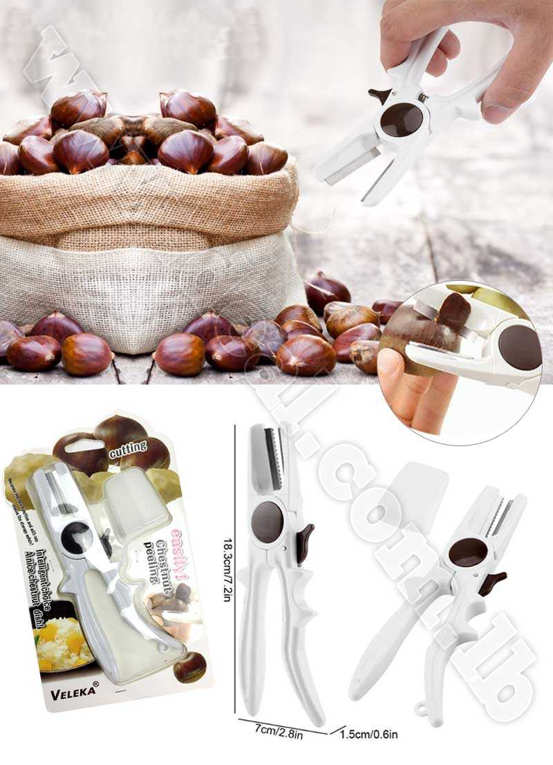 Stainless+Steel+Chestnut+Sheller+Scissors+Chestnut+Peeler