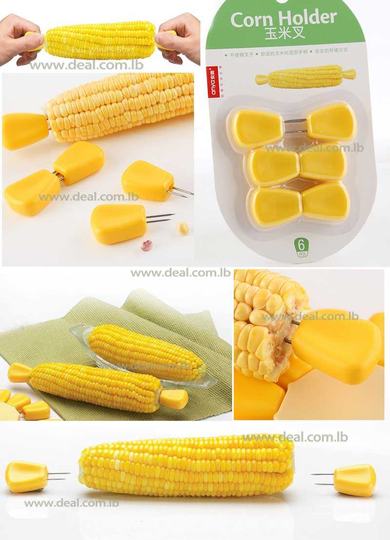 Stainless Steel Corn Holder