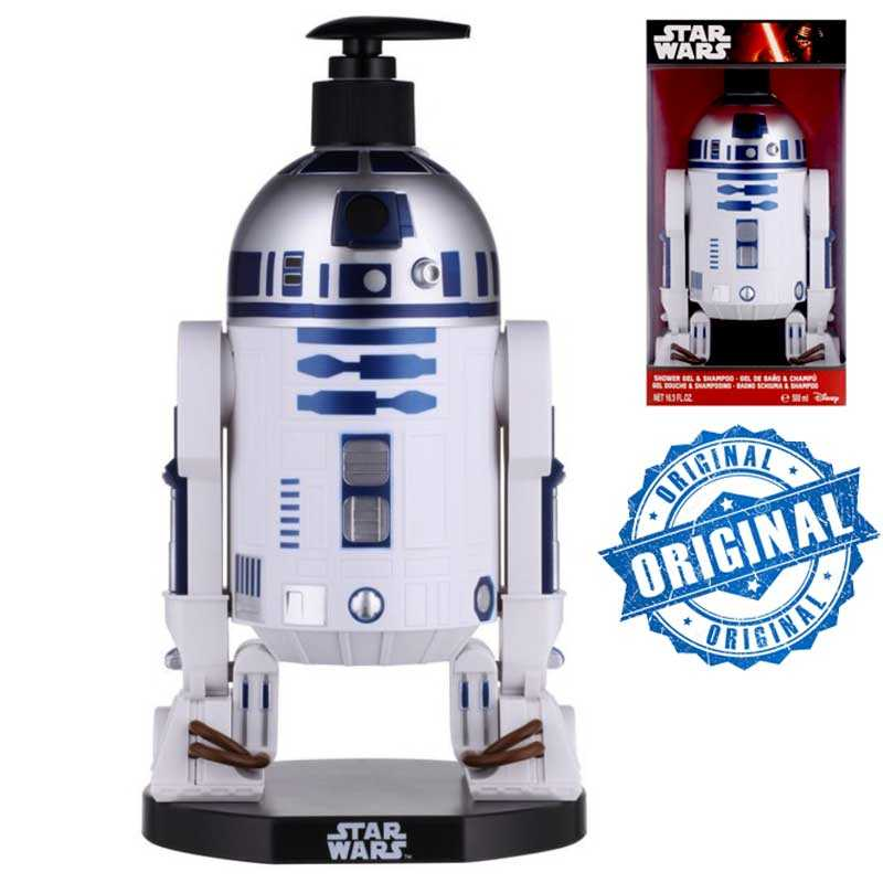 Star Wars Figurine 3D R2D2 Gel Douche + Shampoing 500 ml