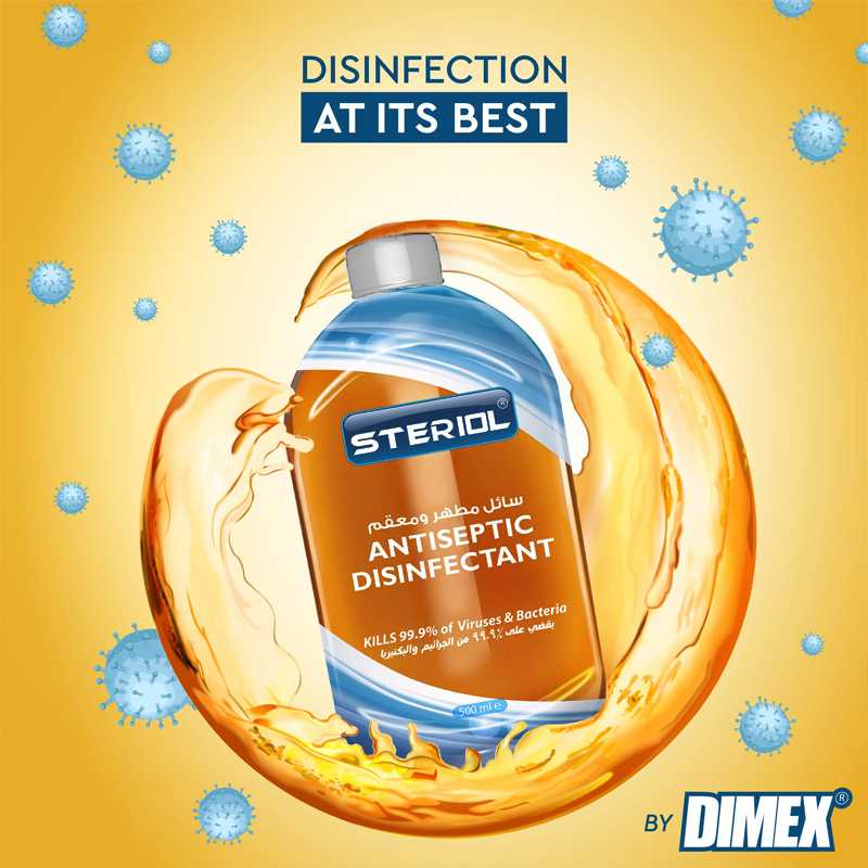 Steriol Antiseptic Disinfectant 500 ml