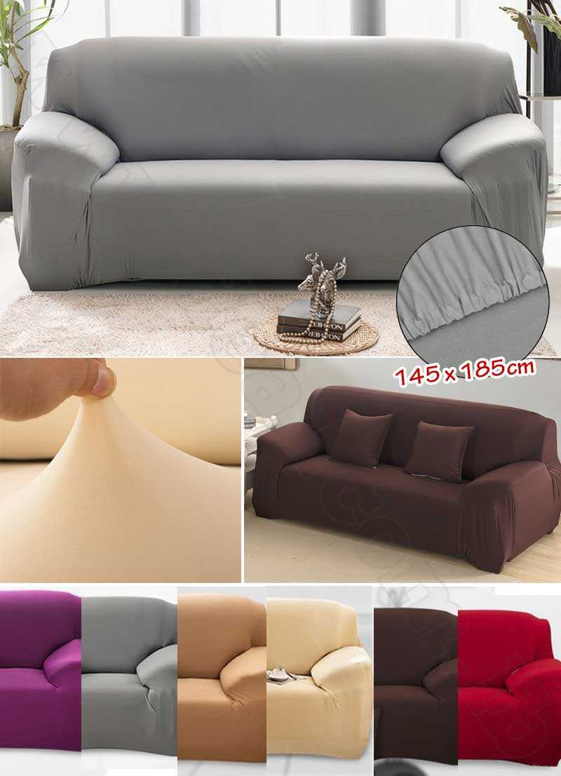 Stretch Elastic Double Sofa Cover