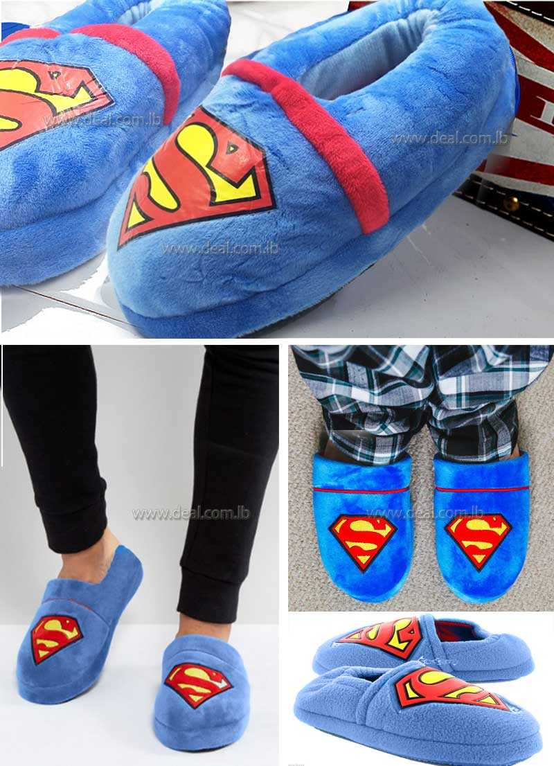 Superman boys slipper shoes size