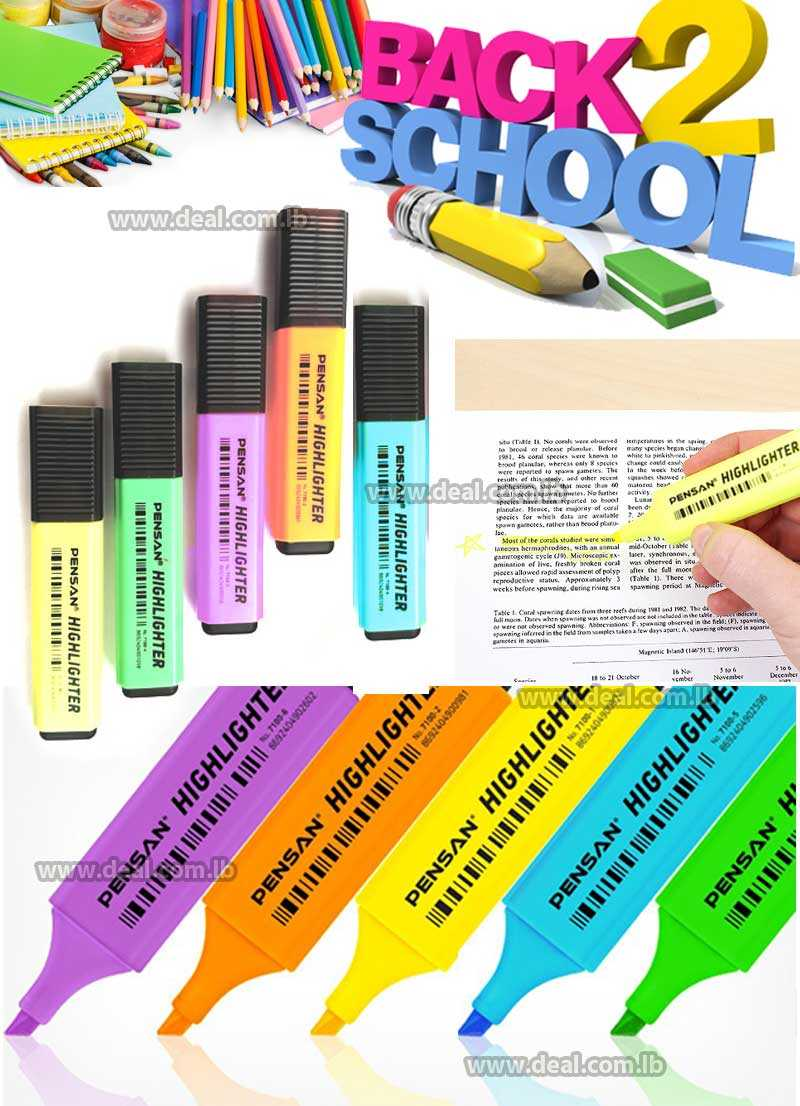 TEXTMARKER PENSAN HIGHLIGHTER