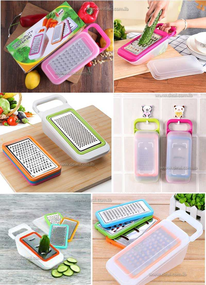 THE CUTTING TOOLS vegetables 4 IN 1 Multipurpose grater