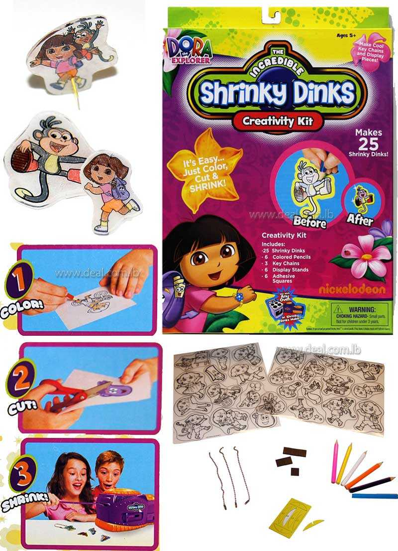 THE INCREDABLE SHRINKY DINKS
