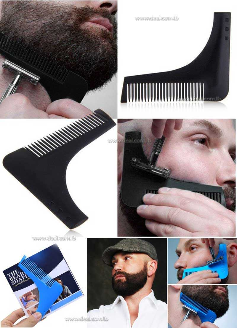 The Beard Shaper Facial Hair Shaping Tool