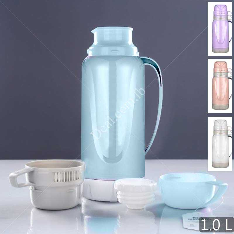 Thermos 1 l With 2 cups