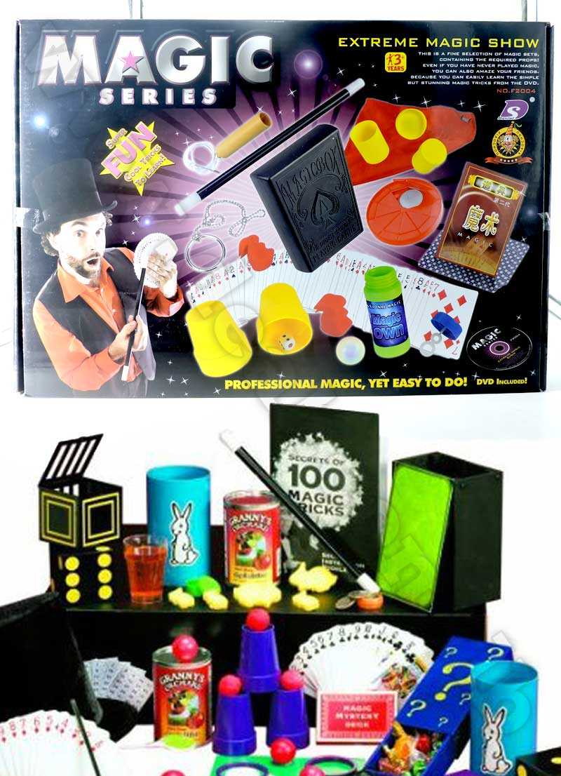 Trick Magic Show Suitcase