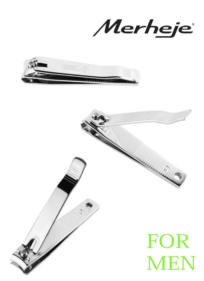 Unhex Toenail Clipper with file for men