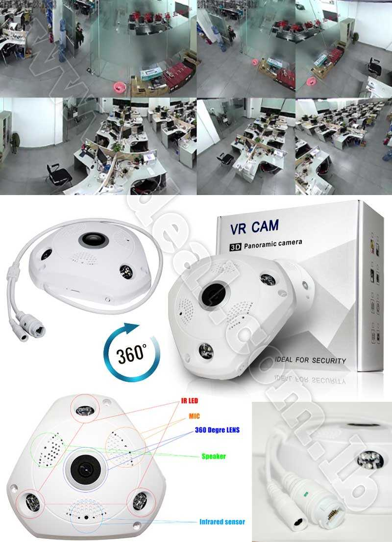 VR Cam 3D Panoramic Camera 2  MP