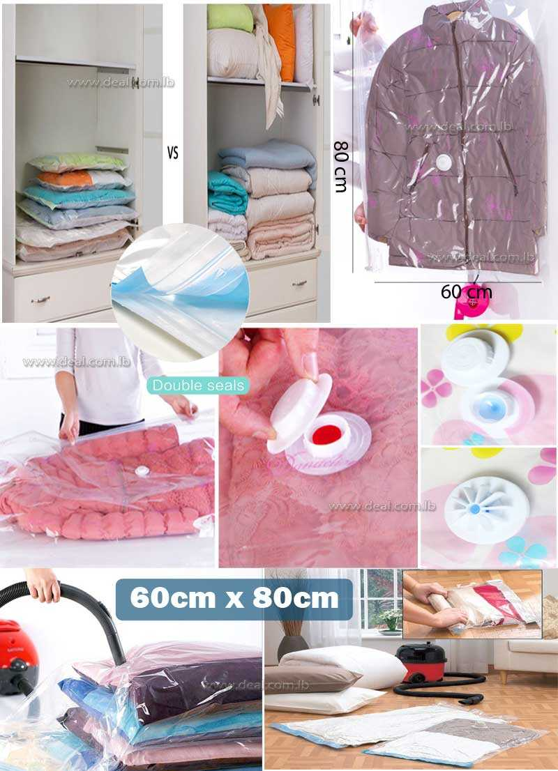 Vacuum Storage Bag Size  60x80cm