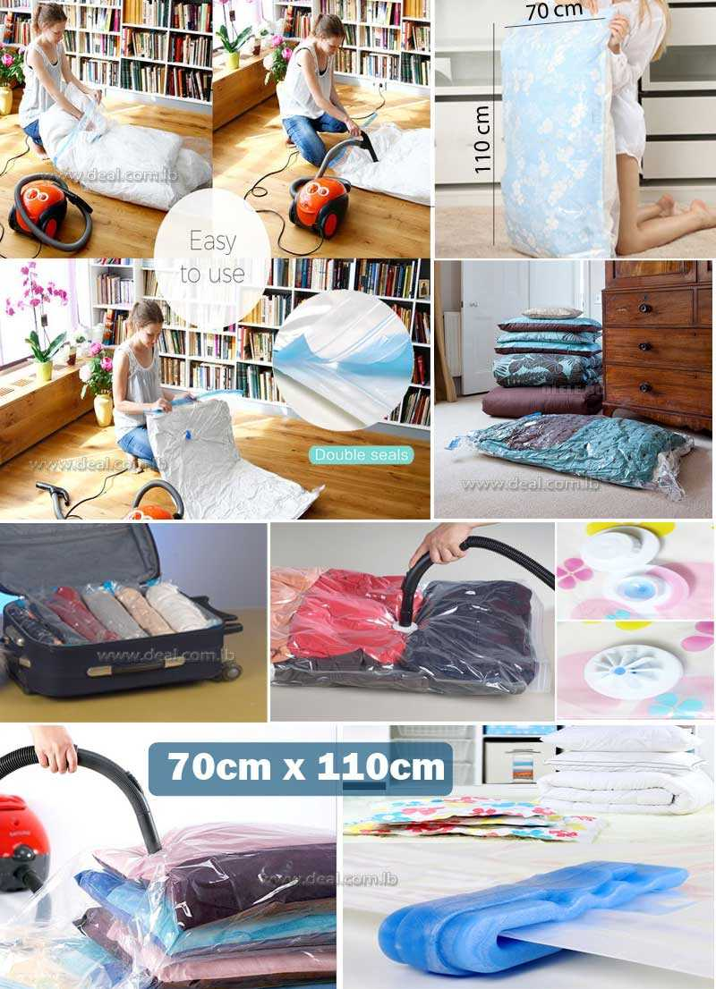 Vacuum Storage Bag Size  70x110cm