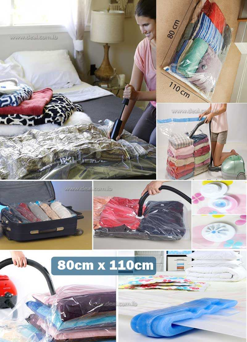 Vacuum Storage Bag Size  80x110cm