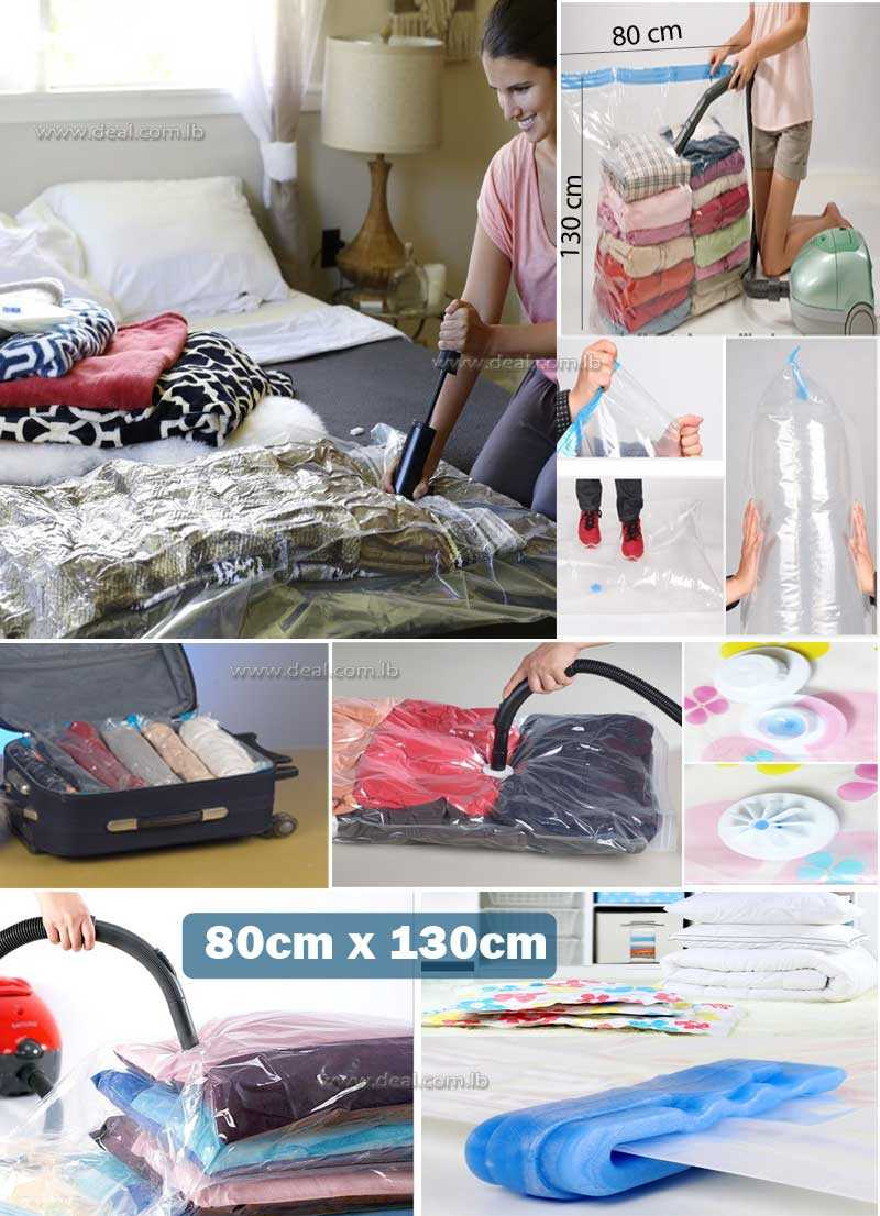 Vacuum Storage Bag Size  80x130cm