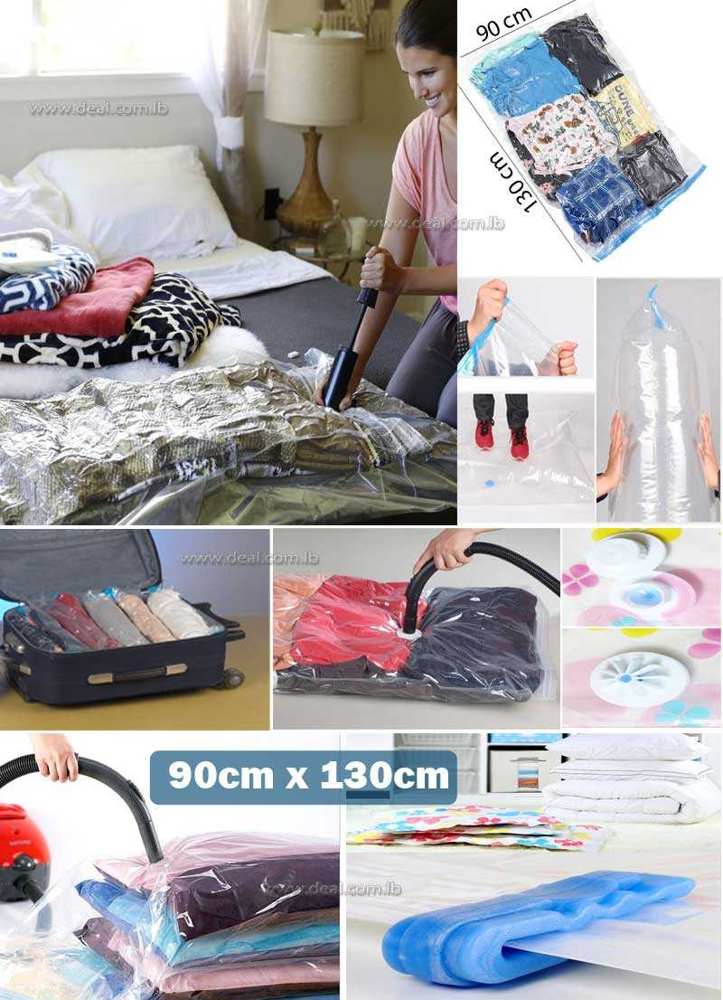 Vacuum Storage Bag Size  90x130cm