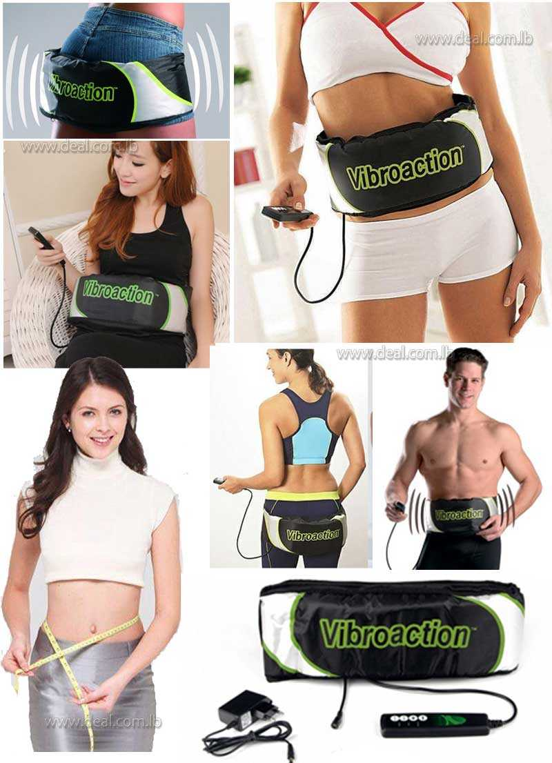 Vibroaction+Massage+Belt++Slimming+Rejection+Fat+Belt