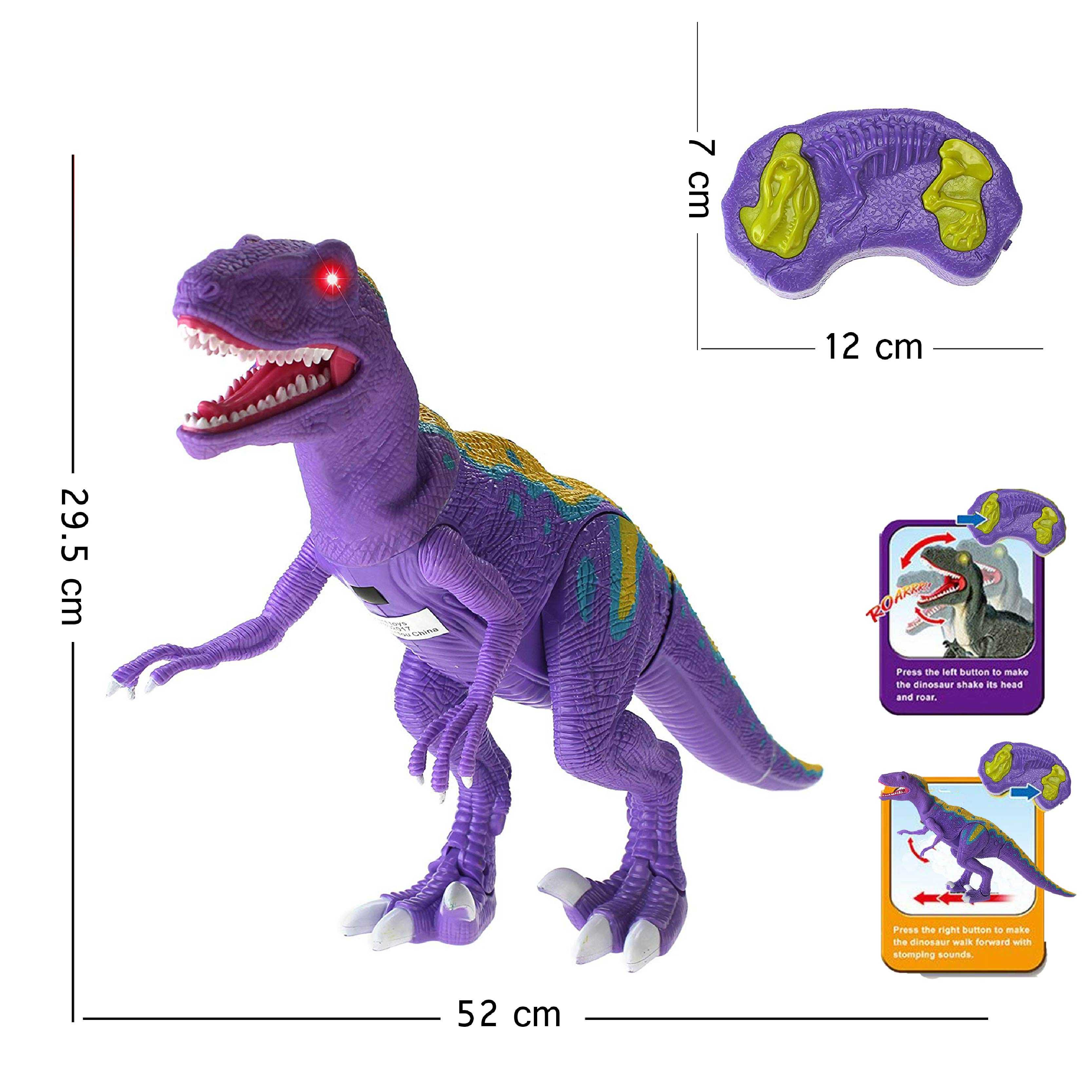Walking+Series+Dinosaur+World+Raptor+Remote+Controlled+RC+Battery+Operated+Toy+Velociraptor+Figure+Shaking+Head+Walking+Movement+Light+Up+Eyes+%26+Sounds