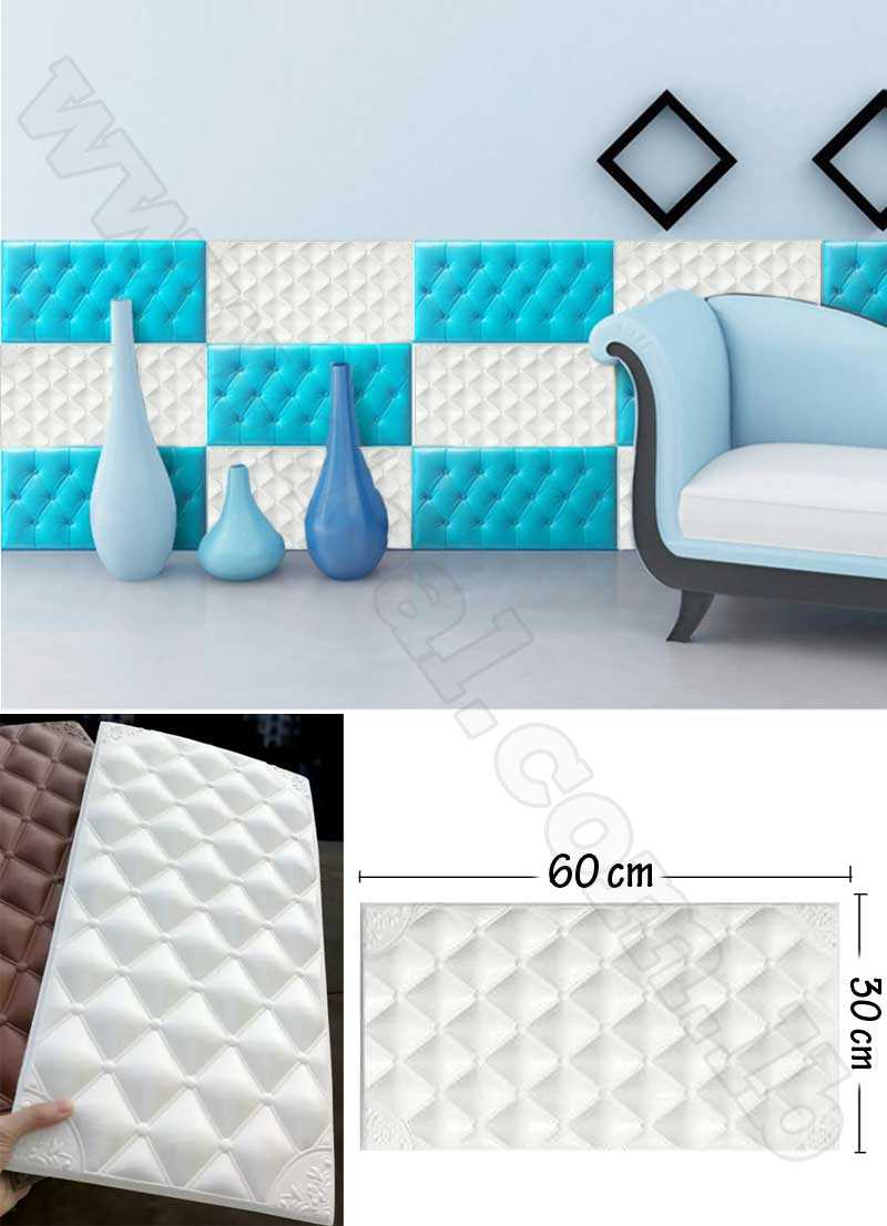 White+Wall+Sticker+Brick+Pattern+Removable+PE+Foam+Wall+Stickers+Soundproofing