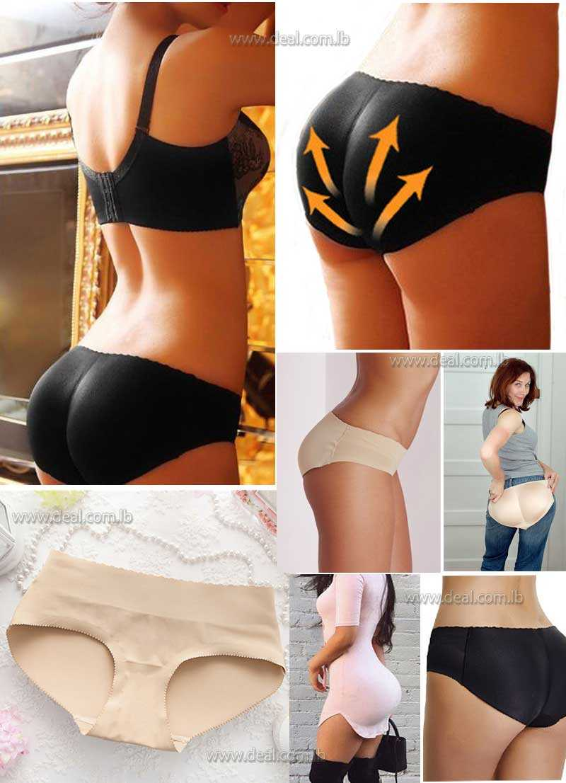 1e47edd176c3a Women Butt Lifter Lingerie Underwear Padded Seamless Butt Hip Enhancer  Shaper Panties Push Up Buttocks Sexy Briefs Body Shaping