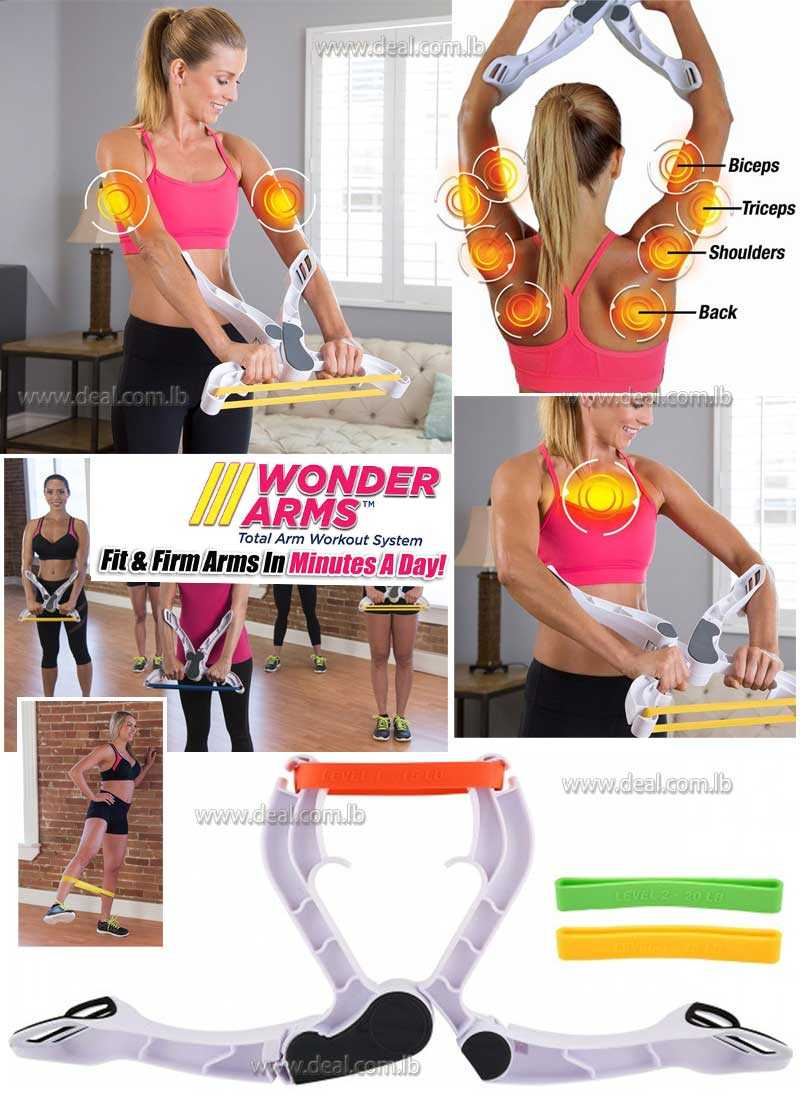 Wonder Arms  Upper Body Workout Machine