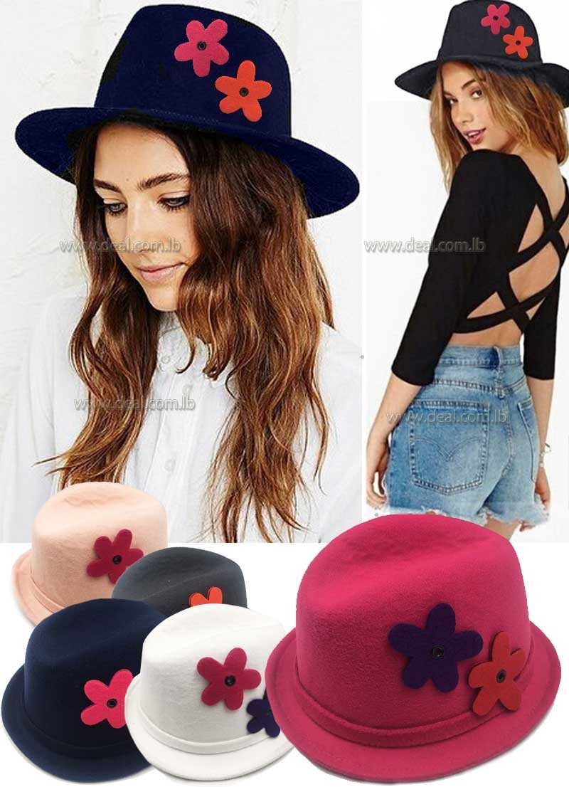 000b16b978f Woolen Summer Winter Womens Mens Fedora hat Crushable Genuine Felt Sun Cap  Trilby Gorra Toca Sombrero panama hat