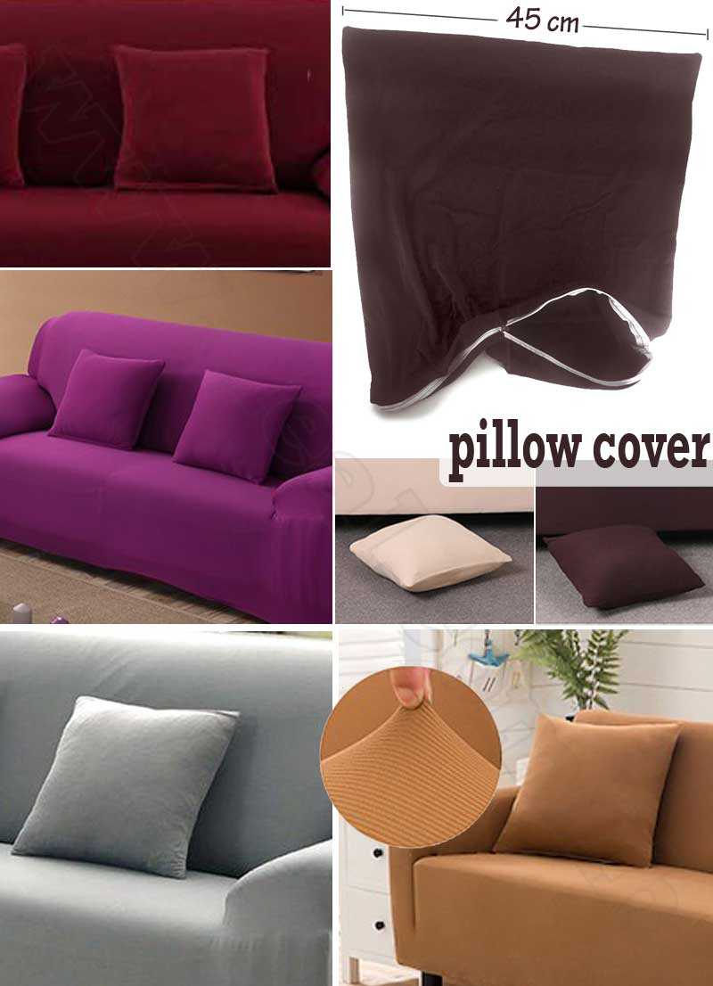Zipper Fabric Easy Pillow Cover