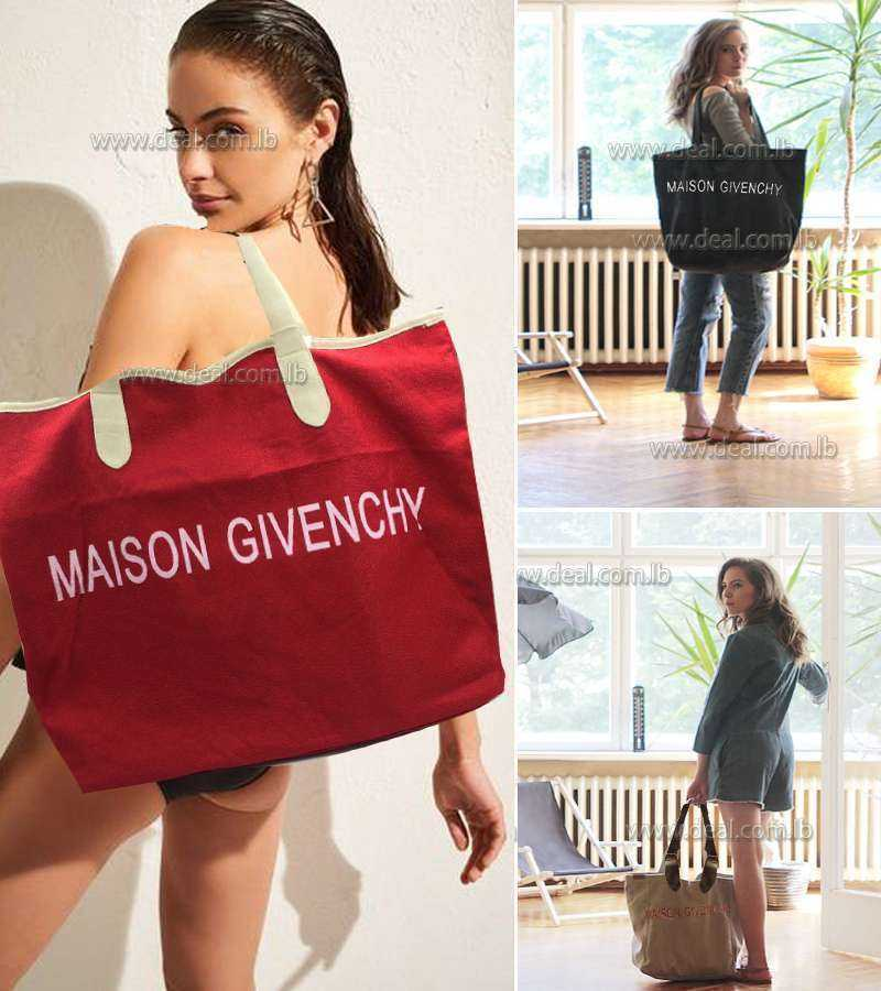 big size Gevenchy beach bag
