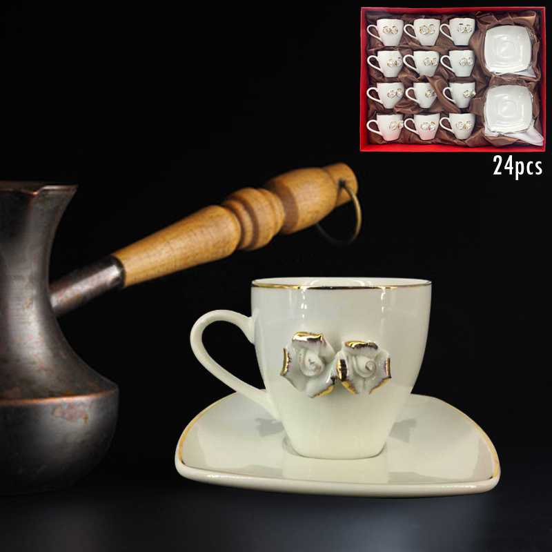cup coffee set 12 cup